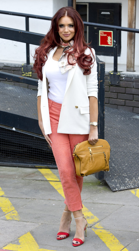 Amy Childs spring style in London