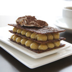 Coffee and Cinnamon Mille feuilles recipe
