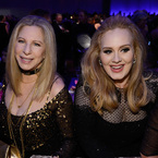 Adele gets cooking advice from Barbara Streisand