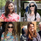 CELEB TREND: Floral prints for spring/summer 2013