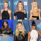 RED CARPET: Dresses at GLAAD Media Awards