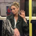 The 7 O'Clock Roundup: Sarah Harding takes the tube