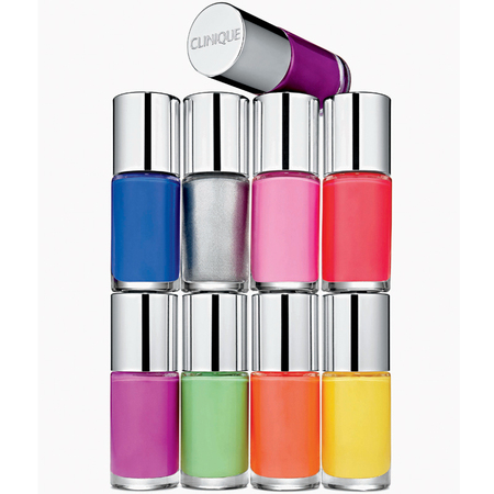 Clinique A Different Nail Enamel group shot for SS13