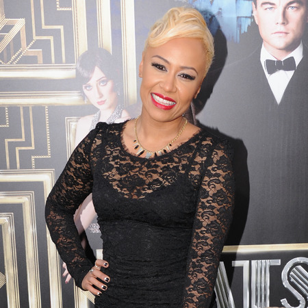 Emeli Sandé wears lace Dolce & Gabbana at The Great Gatsby world premiere