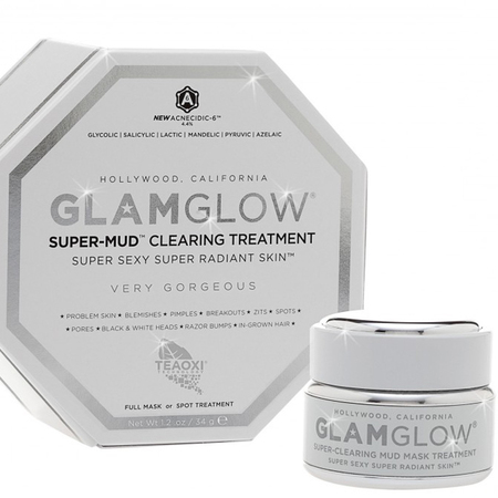 GlamGlow Super Mud face mask