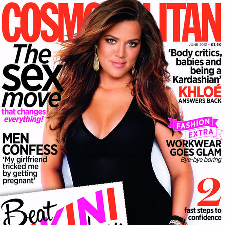 Khloe Kardashian covers British Cosmopolitan