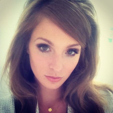 Millie Mackintosh does 60s hair and beauty