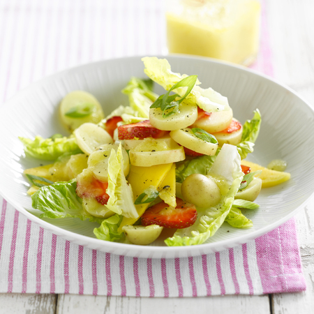 Fruity Summer Potato salad