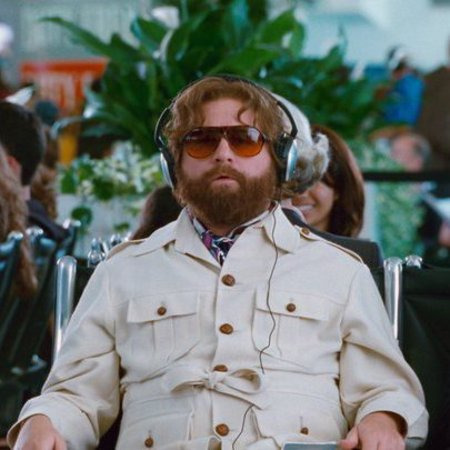 The Hangover film still with Alan Garner