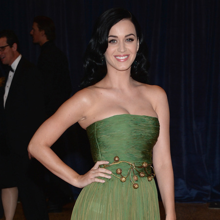 Katy Perry at white house correspondents dinner 2013