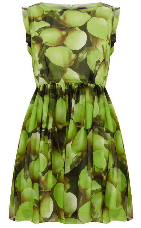 Fruit print dresses