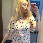 Fearne Cotton does post-pregnancy polka dots