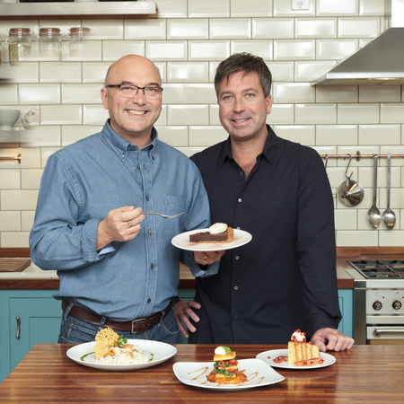 Masterchef Gregg Wallace and John Torode