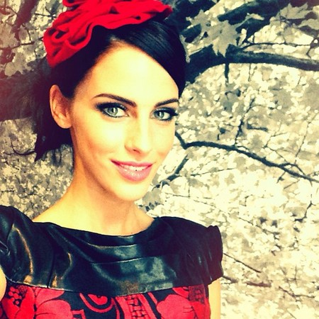 Jessica Lowndes's Alice in Wonderland themed shoot for Drafted Magazine