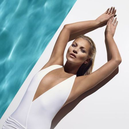 Kate Moss for St Tropez tan