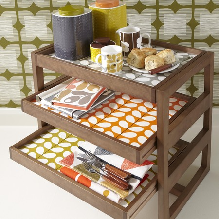 Orla Kiely kitchenware and furniture