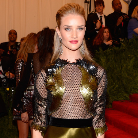 Rosie Huntington-Whitley at 2013 met ball