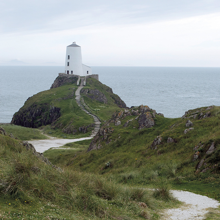 Ynys Llanddwyn in Newborough Bay, Anglesey