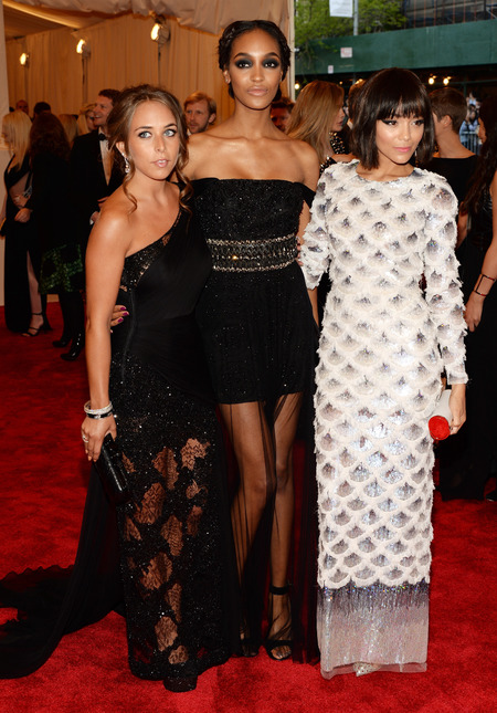 Jourdan Dunn in Topshop at Met Ball 2013