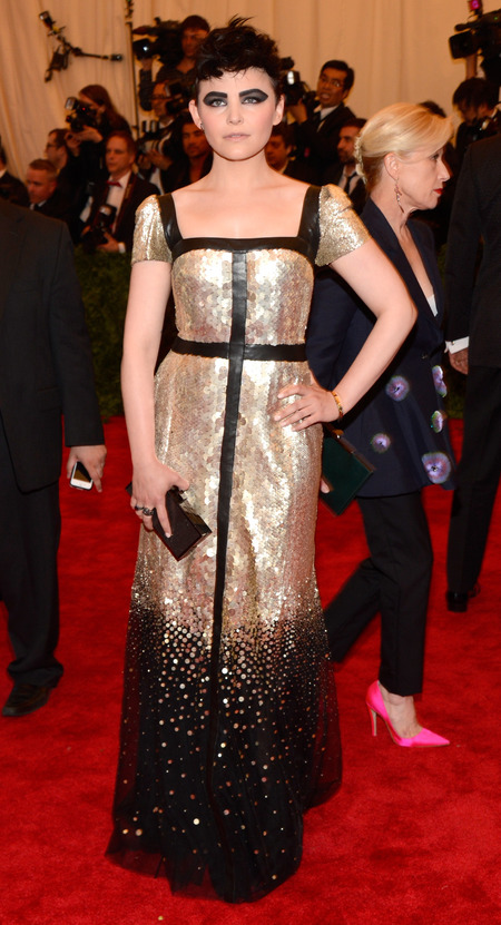 Ginnifer Goodwin in Tory Burch at Met Ball 2013