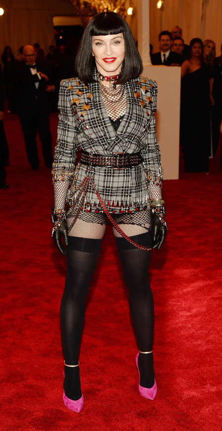 Madonna in Givenchy at Met Ball 2013