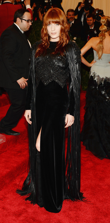 Florence Welch in Givenchy at Met Ball 2013
