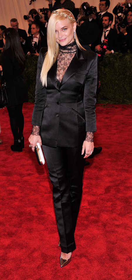 Jamie King in Topshop at Met Ball 2013