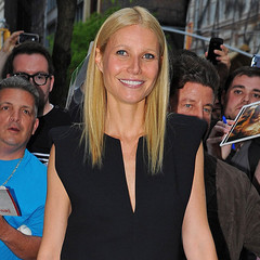 Gwyneth Paltrow launches GOOP app at New York Apple store
