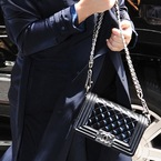 CELEBRITY BAGS: Kim Kardashian's Chanel BOY