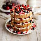 MasterChef recipe: Stacked pear & blackberry cake