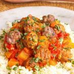 Moroccan Spiced Lamb with Sweet Vegetable Stew