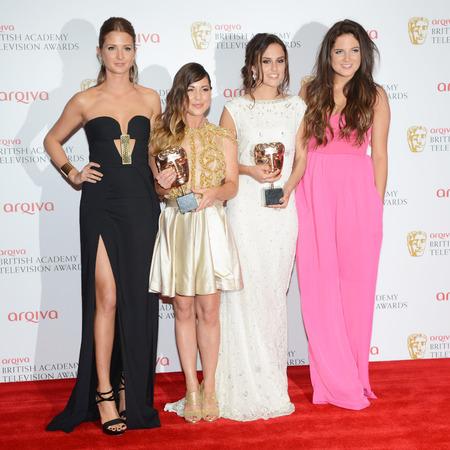 Made In Chelsea cast celebrate BAFTA TV award win