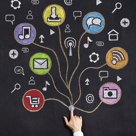 Social media, careers, media