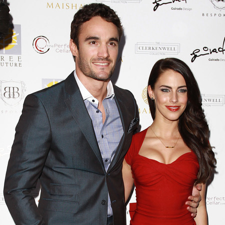Jessica Lowndes and Thom Evans at Aston Martin launch