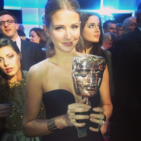 Made In Chelsea cast celebrate BAFTA TV award win
