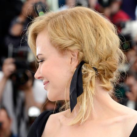 Nicole Kidman's ribbon plait