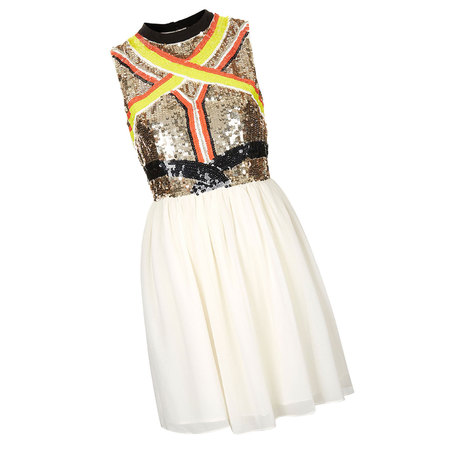 Dress Shopping on In The Spirit Of Things With This Sparkly Skater Dress From Topshop