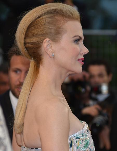 Nicole Kidman's quiff ponytail