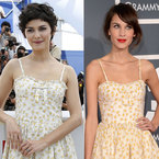 FASHION FIGHT! Audrey Tautou V Alexa Chung in Valentino summer dress