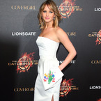 CANNES: Jennifer Lawrence does Dior at Hunger Games