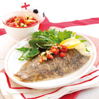 Summer Fish Recipe: Lemon sole with salsa
