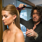 HAIR HOW TO: Millie Mackintosh's updo with Mark Hill