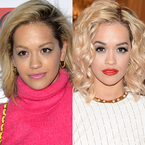 Rita Ora ditches her eyebrows at Daft Punk party