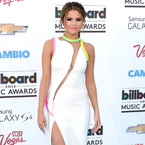 Selena Gomez's peekaboo Versace at Billboard Awards
