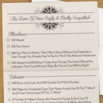 The no bull wedding invite you really want to send