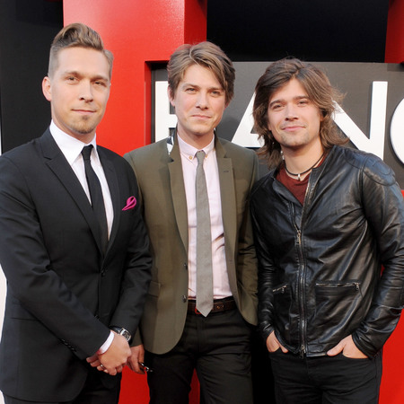 The Hanson brothers at a Hangover Part III party.