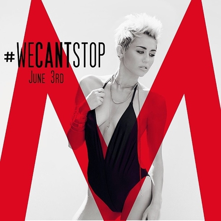 Miley Cyrus promotes We Can't Stop