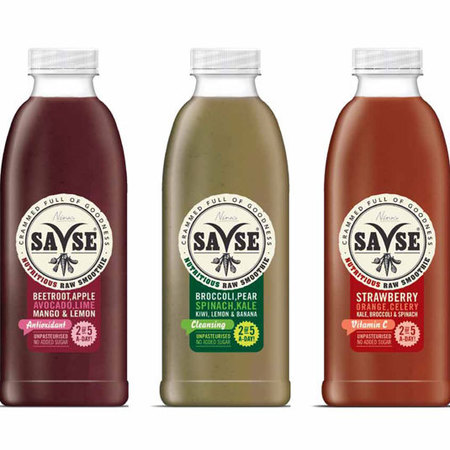 SaVse raw smoothies