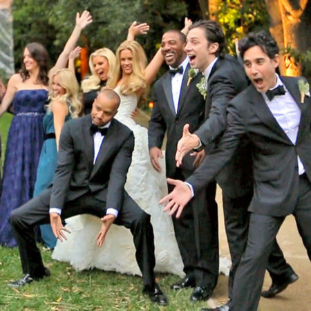 Donald Faison and CaCee Cobb wedding video