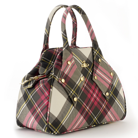 Vivienne Westwood Chaos Collection Derby Bag in New Exhibition Tartan